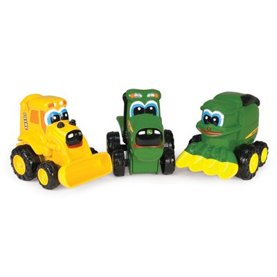 John Deere Mini Soft Barney Backhoe Vehicle