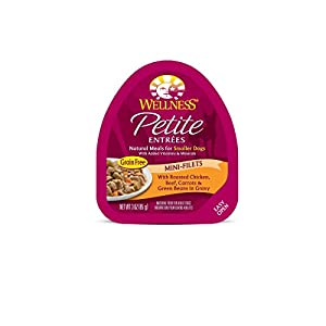 Wellness Mini-Filets Roasted Chicken and Beef Petite Entrées , 3-Ounce, 24-Pack