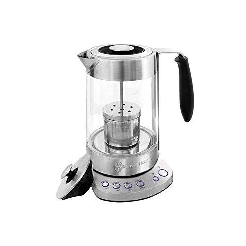 Russell Hobbs 2 in 1 Tea Maker Glass Electric kettle 1.7L RH-S0816TM (Glass Kettle Russell Hobbs compare prices)