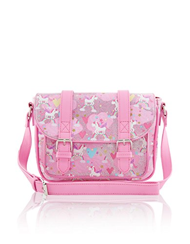 Accessorize-Fille-Sac-forme-cartable-Tali-imprim-licorne