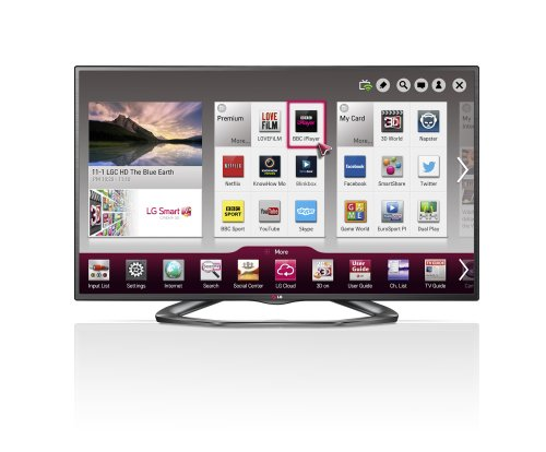 LG 42LA620V 42-inch Widescreen 1080p Full HD Cinema 3D Smart LED TV with Freeview HD/Built-In Wi-Fi