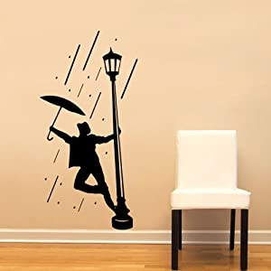 Singing In The Rain Gene Kelly Large Wall Decal Sticker Home