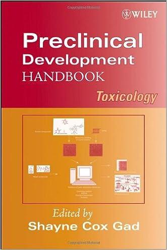 Preclinical Development Handbook: Toxicology