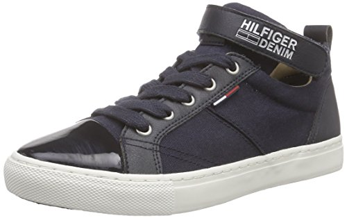 Hilfiger Denim L1385UCIANA 5C, Damen Sneakers, Blau (MIDNIGHT 403), 42 EU thumbnail