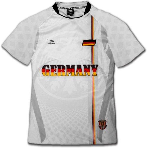 Germany PRO Soccer Jersey :: PRO Futball Jersey (White)
