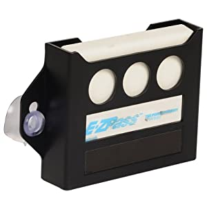 AutoLogix Black Toll Pass Holder