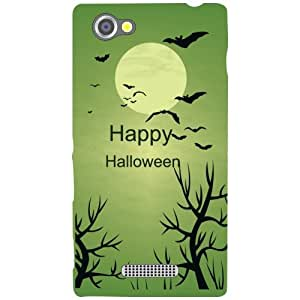 Sony Xperia M Back Cover - Happy Halloween Designer Cases