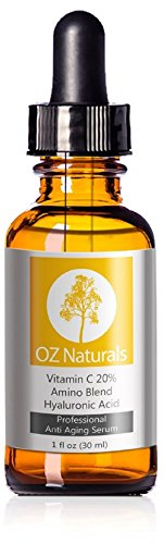 凑单品:OZ Naturals 20% Vitamin C + Amino + Hyaluronic Acid Serum 三合一原液英华 30ml $27.99