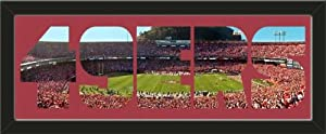 Personalize Your Name With Framed San Francisco 49ers Candlestick Park Stadium Large... by Art and More, Davenport, IA
