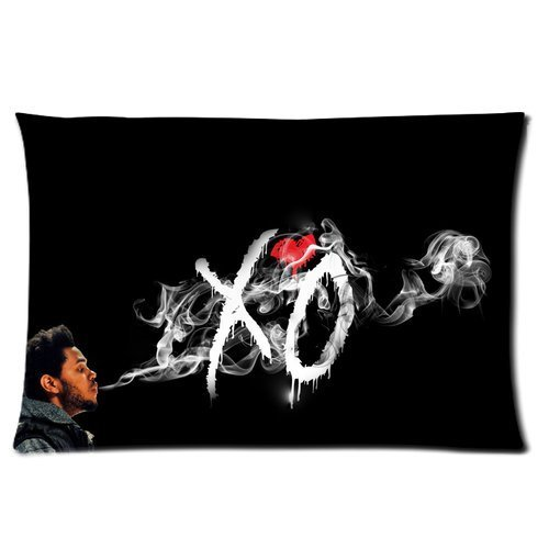 Butuku The Weeknd Xo Smoke Personalized Rectangle Pillow Case 24X16 (One Side) front-703263