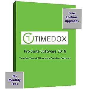 Timedox Silver Snow | Wi-Fi Biometric Fingerprint Time Clock
