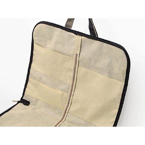 ガーメントバッグ 取っ手長さ調節可能 ハンガー1本付き メンズ レディース 02-5263(クロ)