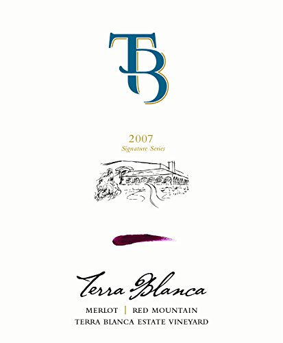 2007 Terra Blanca Winery Signature Series Merlot 750 Ml