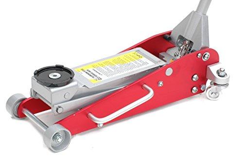 Pro-Lift-Montagetechnik Alu/Stahl-Rangierwagenheber, Werkstattqualität: 2,5t