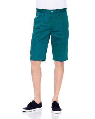 Levi's Pantalón Corto Volume Teal Green