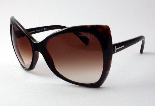 Tom Ford TF 175 Nico 05E Dark Havana Tf175 Women'S Sunglasses