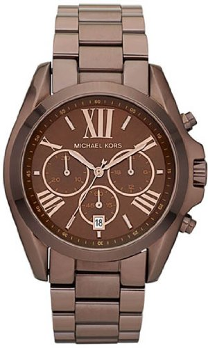 Michael Kors Women's MK5628 Bradshaw Brown Watch
