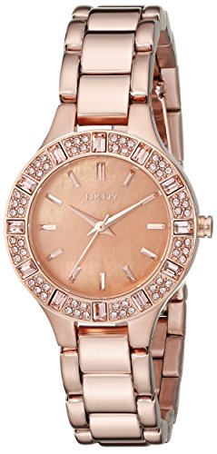 DKNY 3-Hand Analog with Glitz Women's watch #NY8486
