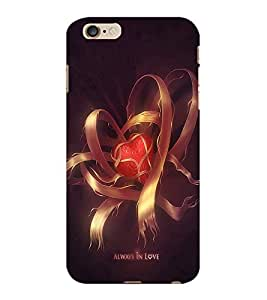 ColourCraft Love Design Back Case Cover for APPLE IPHONE 6S PLUS