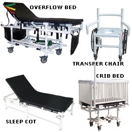 Surge Overflow Beds - Ep-Cot Surge Sleep Cot - Model 562488