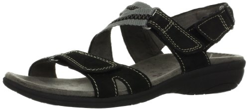 Naturalizer Women's Valero Sandal,Black,12 W US