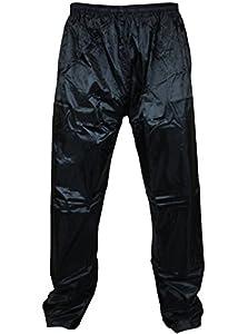 Mens Womens Waterproof Over Trousers Rain Pants Motorcycle Fishing Hiking