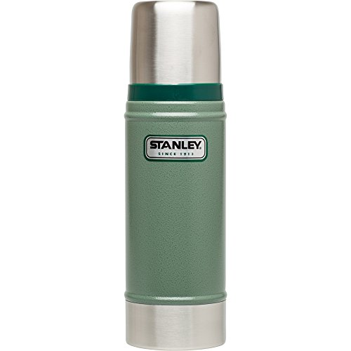 Stanley Classic Vacuum Bottle 16oz Hammertone Green (Stanley Cycle Flask compare prices)