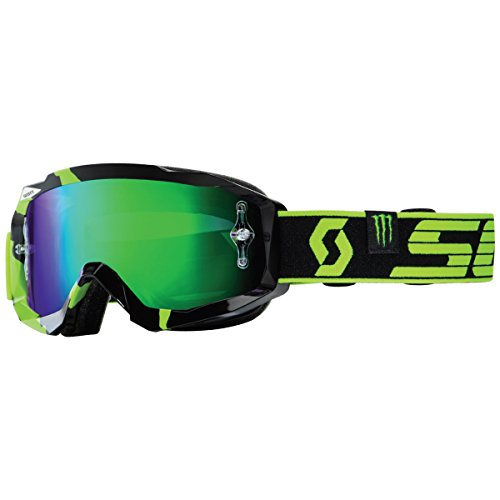 Scott Hustle MX Pro Circuit Monster Energy LE Goggles - Black/Green / One Size (Black Monster Energy Stickers compare prices)