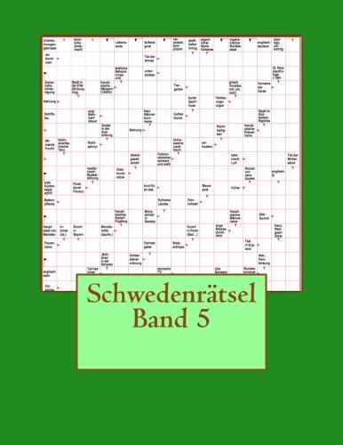 Schwedenratsel Band 5  [Schwedenratsel] (Tapa Blanda)
