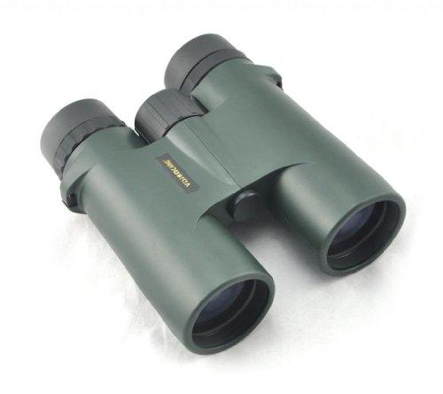 Visionking 10X42 Waterproof Nitrogen Filled Bak4 Roof Binoculars Telescope Color Green