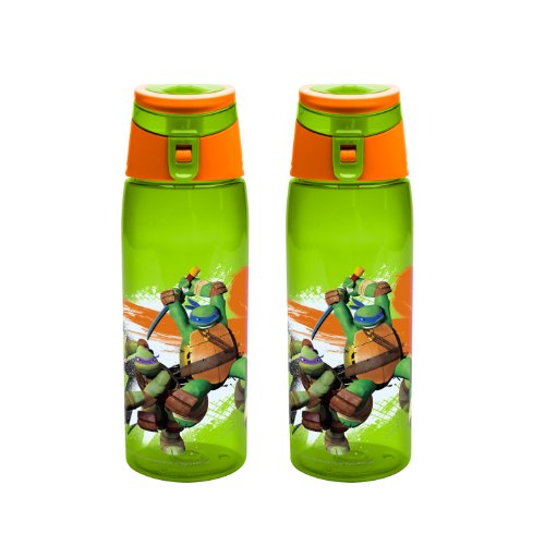 zak designs teenage mutant ninja turtles tritan bottle 25 ounce 2 pack batesxzdfszfegeqgzxz. Black Bedroom Furniture Sets. Home Design Ideas
