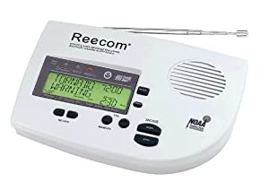 Reecom R-1630 Weather Alert All Hazard Alert Radio with S.A.M.E from Reecom