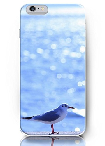 Ouo New Unique Design Hard Cover For 5.5 Inch Iphone 6 Plus Case With Design Of Cute Sea Bird