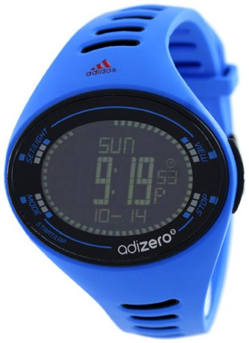 Adidas Men's Santiago ADP3511 Blue Polyurethane Quartz Watch with Black Dial