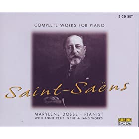 Saint-saens: Complete Works For Piano