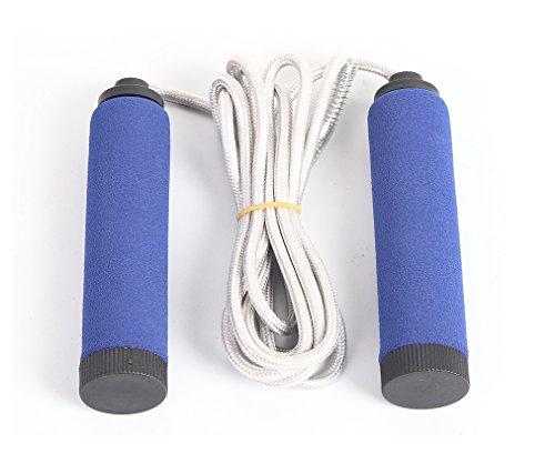 Sports-God-Foam-Sponge-Handle-Rope-Skipping-Jump-Rope