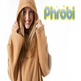 Mlex Ultimate Phrobi Blanket Robe-double Button Closure