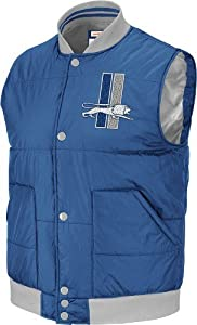 NFL Mitchell & Ness Detroit Lions Free Agent Vintage Vest - Light Blue by Mitchell & Ness