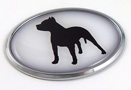 Pit Bull Dog Breeds 3D Chrome emblem Pet Decal Car Auto Bike Truck Sticker (Pitbull Car Emblem compare prices)