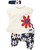 Amoin Baby Girls Fruits Pattern T-shirt Shorts Pants Outfits Sets 0-3 Years