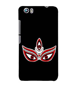 Maa Kaali 3D Hard Polycarbonate Designer Back Case Cover for Micromax Canvas Fire 4 A107