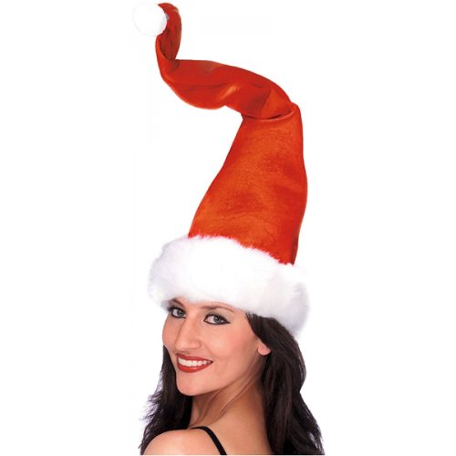 Rubie's Costume Co Santa Hat With Wire Costume - 1