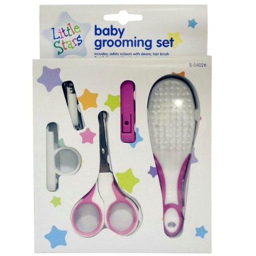 5 piece baby manicure set by Little Stars - Pink