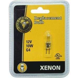 GOOD EARTH LIGHTING G4-12V10W-XBLB Xenon G4 Base Replacement Lamp, 10W/12V (Good Earth Lighting Bulb compare prices)