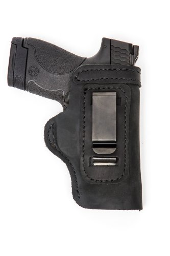 PRO CARRY CONCEALED CARRY GUN HOLSTER COLT COMMANDER PARA P-13 SPRINGFIELD CHAMPION KIMBER 4-4.25 INCH 1911'S LT BLK RH (Springfield 1911 Champion compare prices)