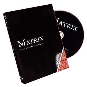 Murphy's Magic Matrix : Visual Close-Up Coin Magic by Tomas Medina Magic Trick Products-DVD