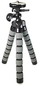 "Samsung SC-D163 Digital Camera Tripod Flexible Small Tripod - for Compact Digital Cameras and Camcorders - Approx 9"" H"