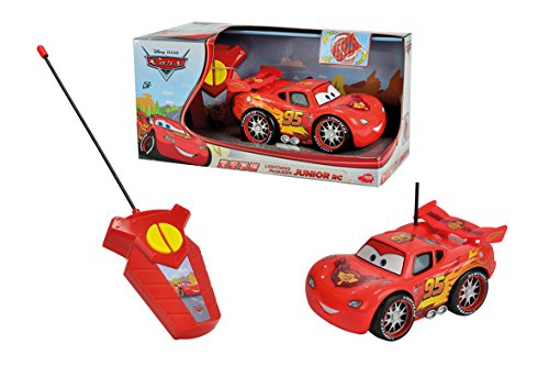 Majorette 213089574 Cars 2 Saetta McQueen Junior Veicolo, 1 16
