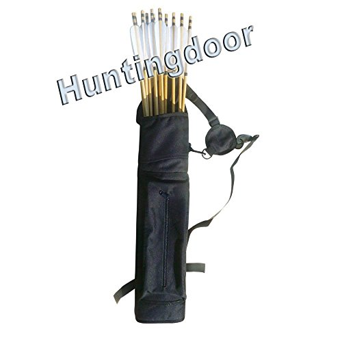 Hunting Back Arrow Quiver Archery Logo Target