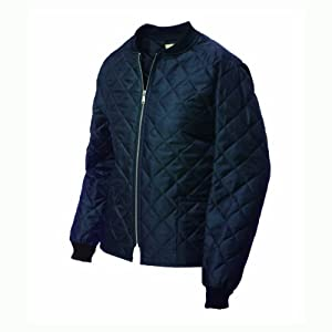 Work King Men's Quilted Freezer Jacket, Navy, X-Large